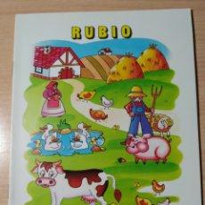 Livres: CUADERNO RUBIO ESCRITURA N 2. NUEVO. Lote 191811758