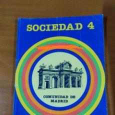 Libros: LIBRO SOCIEDAD 4 EGB SANTILLANA. Lote 191930363