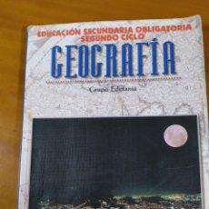 Libros: LIBRO GEOGRAFÍA ESO SEGUNDO CICLO. Lote 191937140