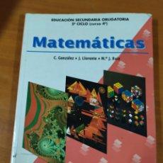 Libros: LIBRO MATEMÁTICAS ESO 4. Lote 191937220
