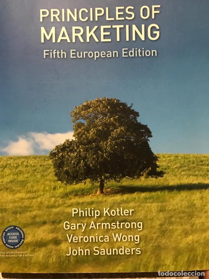 PRINCIPLES OF MARKETING, KOTLER (Libros Nuevos - Libros de Texto - Ciclos Formativos - Grado Superior)