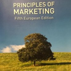 Libros: PRINCIPLES OF MARKETING, KOTLER. Lote 192446272