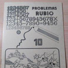 Livres: PROBLEMAS RUBIO N 10. NUEVO. Lote 192579973
