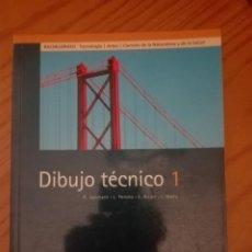 Libros: DIBUJO TÉCNICO 1. BACHILLERATO. EDITORIAL ALMADRABA. Lote 192741910