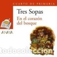 Libros: BLISTER EN EL CORAZÓN DEL BOSQUE 4º DE PRIMARIA. Lote 193569500
