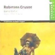 Libros: ROBINSON CRUSOE. Lote 193576326