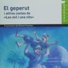 Libros: EL GEPERUT I ALTRES CONTES DE LES MIL I UNA NITS.. Lote 193576450