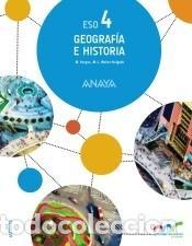 GEOGRAFÍA E HISTORIA 4. (Libros Nuevos - Libros de Texto - Infantil y Primaria)
