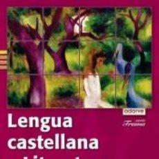 Libros: LENGUA CASTELLANA Y LITERATURA 1.º ESO. ADARVE TRAMA TRIMESTRAL. Lote 194709307