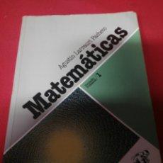 Libros: MATEMATICAS FORMACION PROFESIONAL 1. Lote 194712475
