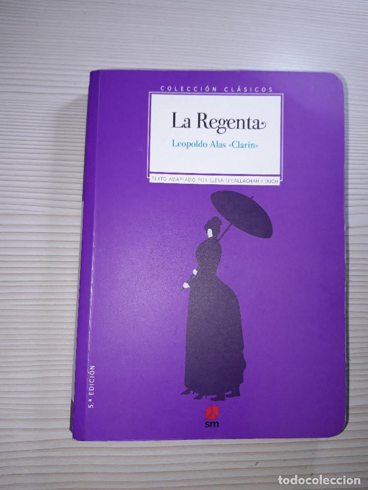 LIBRO LA REGENTA - EDICIONES SM (Libros Nuevos - Libros de Texto - ESO)