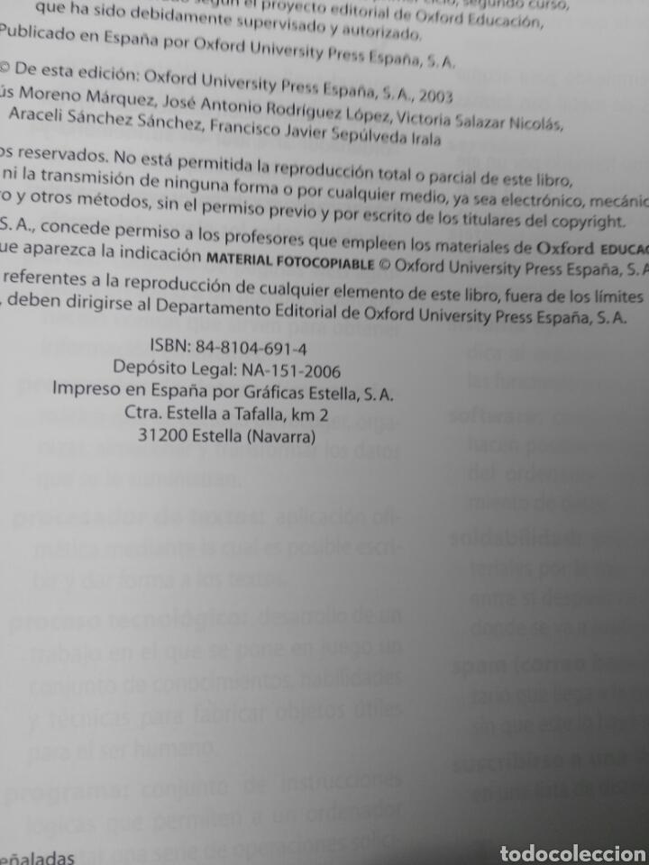 Libros: TECNOLOGIA 2 SECUNDARIA - Foto 2 - 194780533