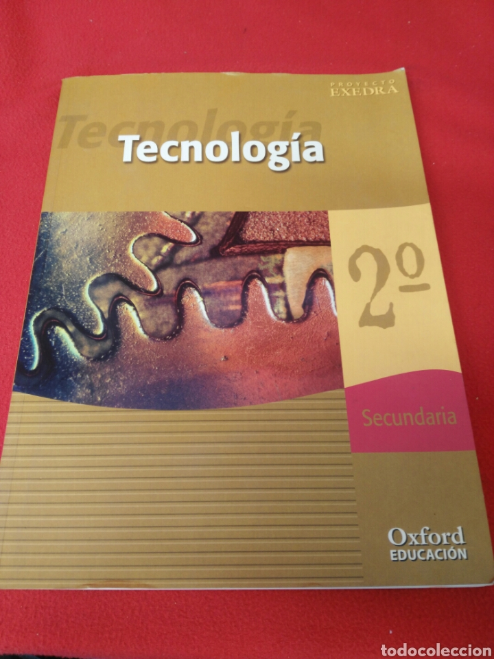 TECNOLOGIA 2 SECUNDARIA (Libros Nuevos - Libros de Texto - ESO)