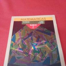 Libros: MATEMATICAS BACHILLERATO 2 ANAYA. Lote 194780766