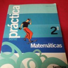 Libros: MATEMATICAS 2 ESO SANTILLANA. Lote 194788607