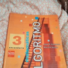 Libros: LIBRO DE MATEMÁTICAS 2005. Lote 194900312