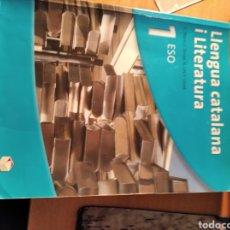 Libros: LLENGUA CATALANA 1ER ESO. Lote 195058273