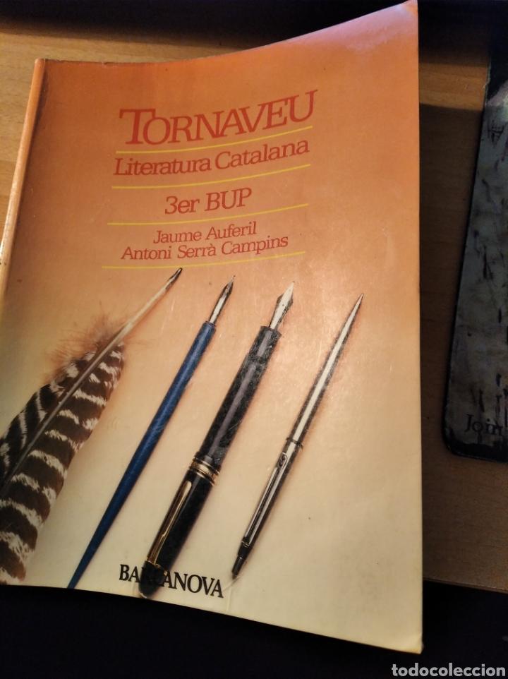TORNAVEU LITERATURA CATALANA 3R BUP (Libros Nuevos - Libros de Texto - Bachillerato)