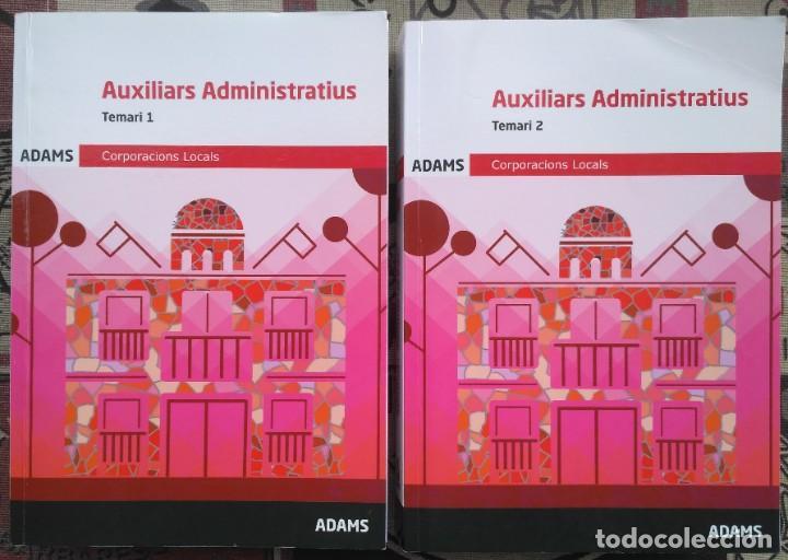 AUXILIARS ADMINISTRATIUS: CORPORACIONS LOCALS. TEMARI 1 Y 2 (Libros Nuevos - Libros de Texto - ESA)
