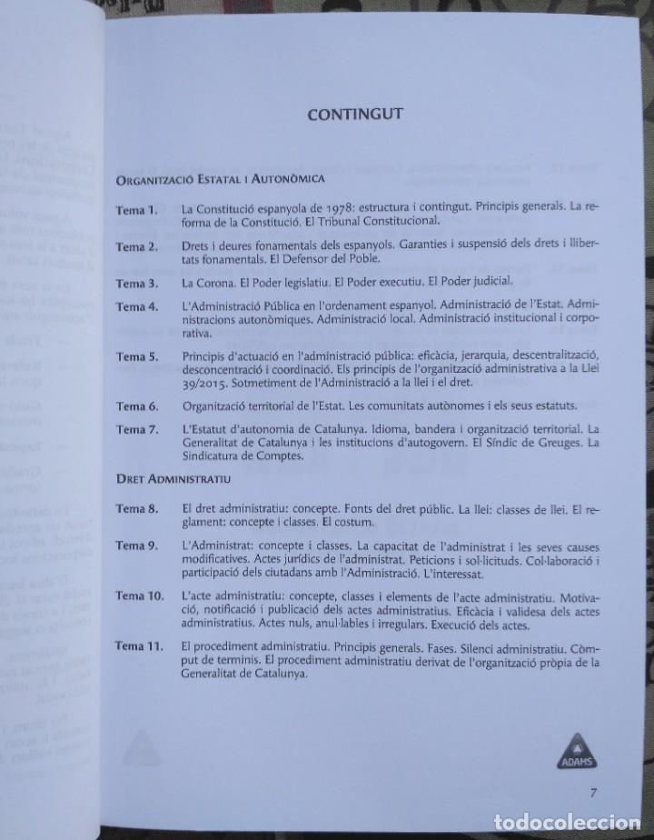 Libros: AUXILIARS ADMINISTRATIUS: CORPORACIONS LOCALS. TEMARI 1 Y 2 - Foto 3 - 243765365