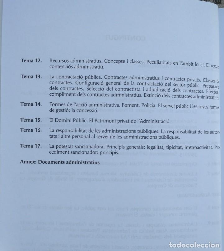 Libros: AUXILIARS ADMINISTRATIUS: CORPORACIONS LOCALS. TEMARI 1 Y 2 - Foto 4 - 243765365
