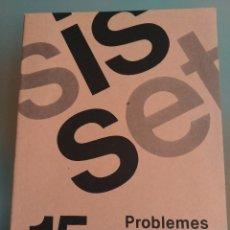 Libros: SIS SET N 15 PROBLEMES NUEVO CATALÁN. Lote 196199553