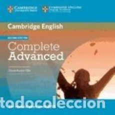Libros: COMPLETE ADVANCED CLASS AUDIO CDS (2) 2ND EDITION. Lote 196727805