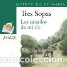 Libros: BLÍSTER LOS CABALLOS DE MI TÍO 5º DE PRIMARIA. Lote 196743388
