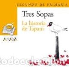Libros: BLISTER LA HISTORIA DE TAPANI 2º DE PRIMARIA. Lote 196743420