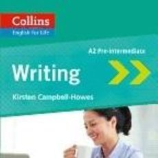 Libros: COLLINS ENGLISH FOR LIFE: WRITING A2. Lote 196767587