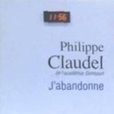 Libros: JABANDONNE. Lote 196970671
