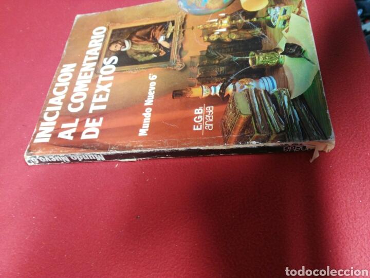 Libros: LIBRO INICIACION AL COMENTARIO DE TEXTO 6 ANAYA - Foto 2 - 197378733