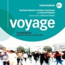 Libros: VOYAGE B1+. STUDENTS BOOK + WORKBOOK+ PRACTICE PACK WITHOUT KEY. Lote 197535390