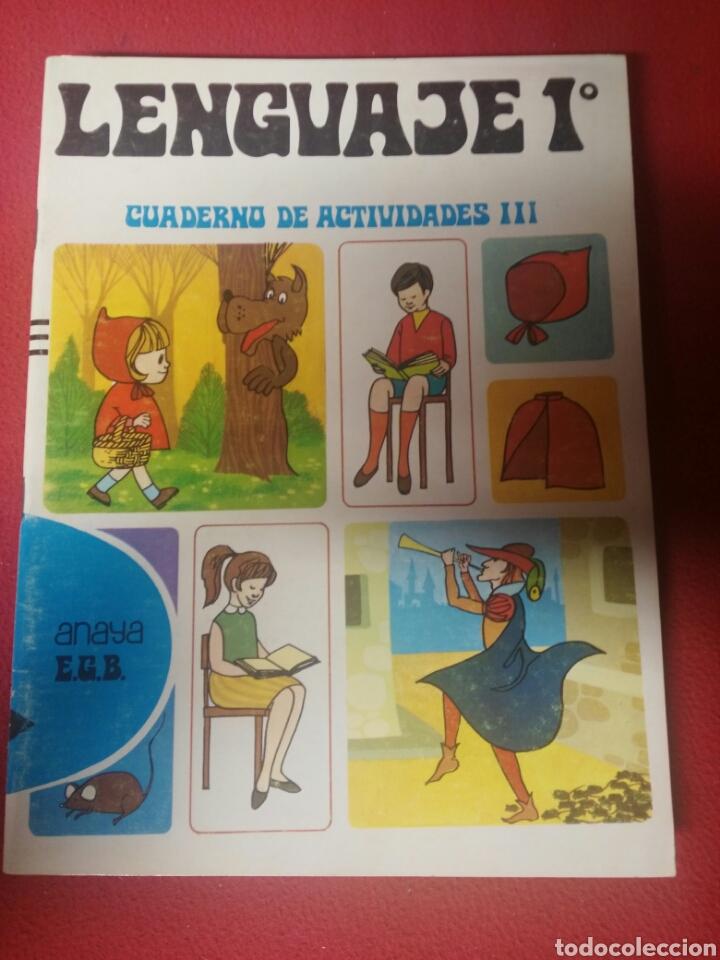 LIBRO LENGUAJE 1 E.G.B. ANAYA AÑO 1971 (Libros Nuevos - Libros de Texto - Infantil y Primaria)