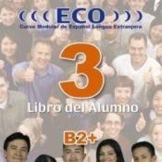 Libros: ECO 3. LIBRO DEL ALUMNO. Lote 198892071
