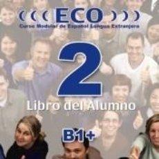 Libros: ECO 2 B1 ALUMNO. Lote 198907046