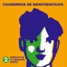 Libros: 2. SINTAXIS DE LA ORACIÓN SIMPLE.. Lote 199104177