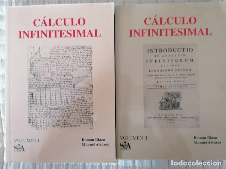 CÁLCULO INFINITESIMAL.- 2 VOLS.- ROMÁN RIAZA, MANUEL ALVÁREZ.- (Libros Nuevos - Libros de Texto - Ciclos Formativos - Grado Superior)