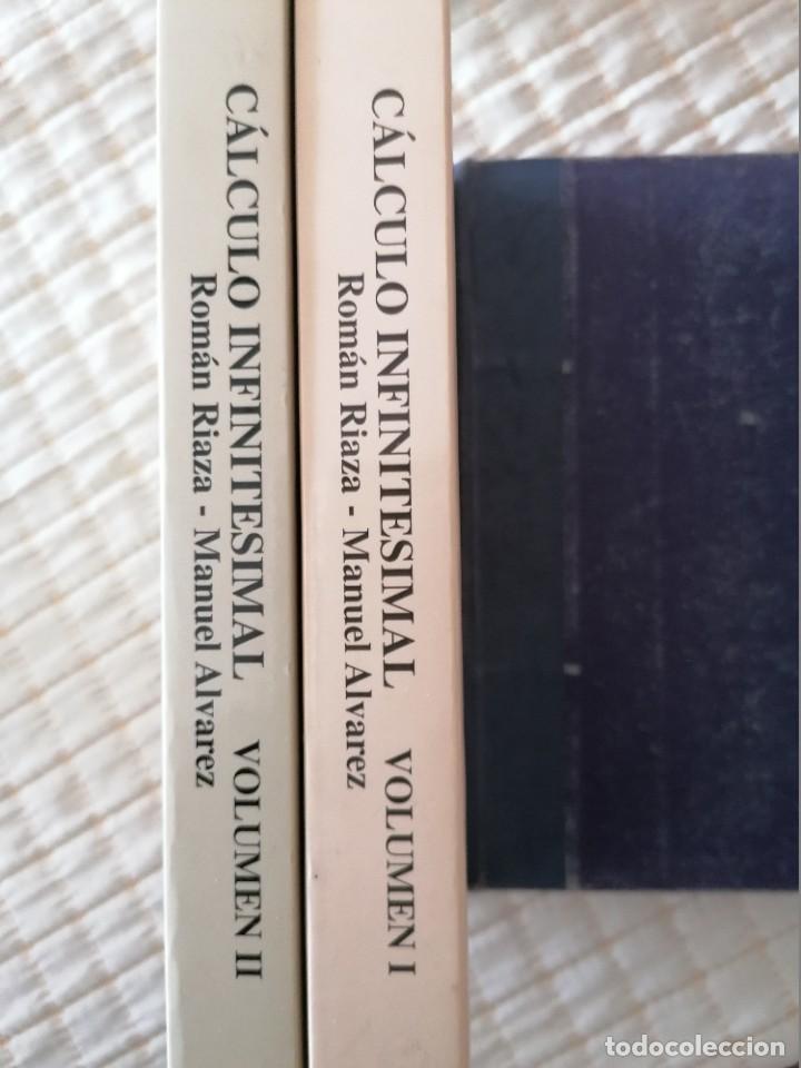 Libros: CÁLCULO INFINITESIMAL.- 2 VOLS.- ROMÁN RIAZA, MANUEL ALVÁREZ.- - Foto 3 - 202472402