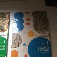 Libros: LIBROS PRIMERO DE LA ESO. Lote 203596935