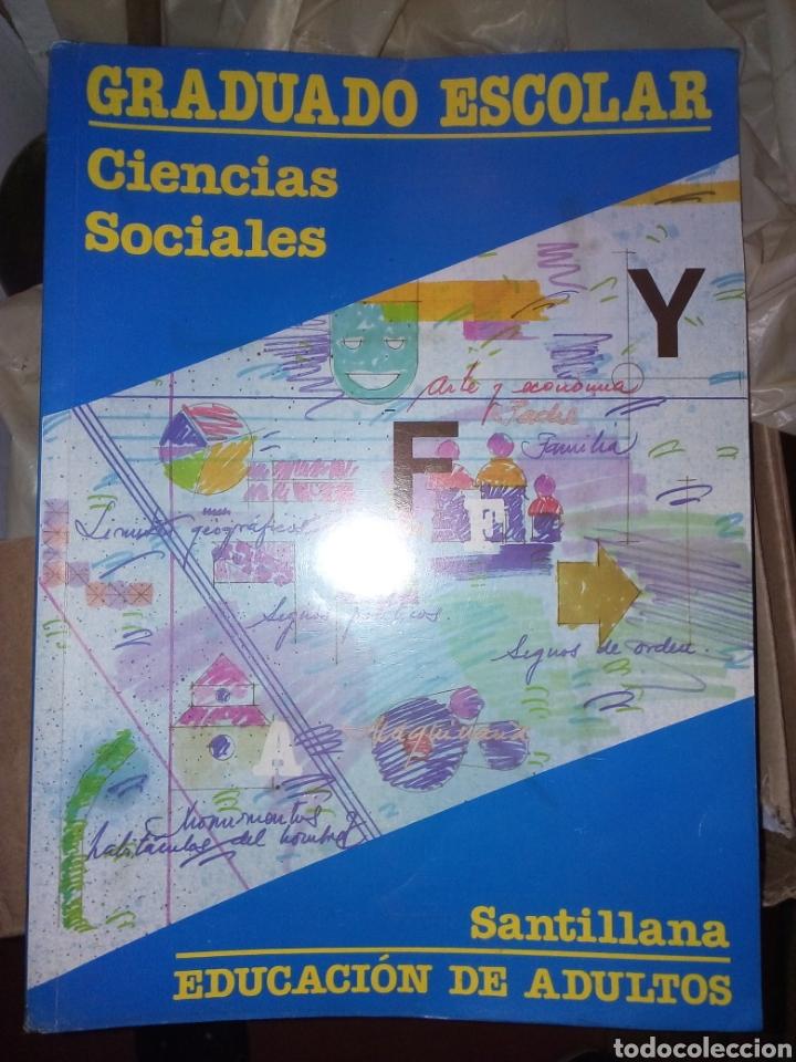 LIBRO GRADUADO ESCOLAR CIENCIAS SOCIALES SANTILLANA (Libros Nuevos - Libros de Texto - ESA)