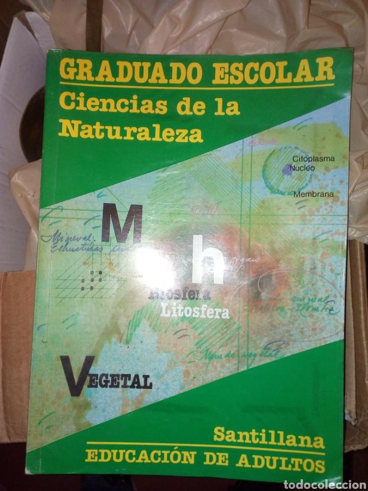 LIBRO GRADUADO ESCOLAR CIENCIAS DE LA NATURALEZA SANTILLANA (Libros Nuevos - Libros de Texto - ESA)