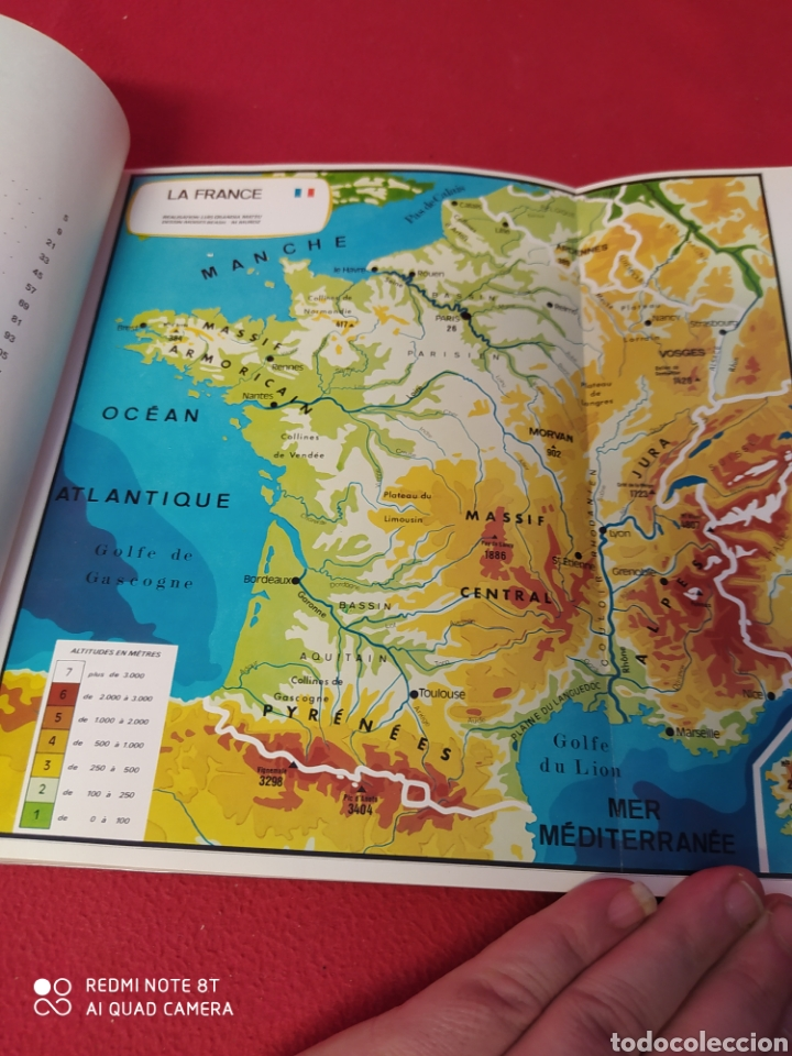 Libros: LIBRO DE 2°DE BACHILLERATO ICI. LA FRANCE - Foto 4 - 203988682