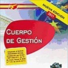 Libros: CUERPO DE GESTIÓN DE LA ADMINISTRACIÓN DEL ESTADO. SUPUESTOS PRÁCTICOS. Lote 205782597