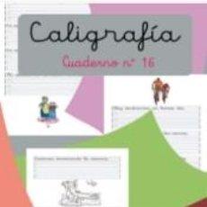 Libros: CALIGRAFÍA 16.PAUTA MONTESSORI. Lote 205926963