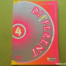 Libros: DIFERENT 4. ESO. STUDENT'S BOOK - JIM LAWLEY Y RODRÍGO FERNANDEZ CARMONA. Lote 206213675