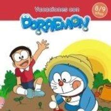 Libros: VACACIONES CON DORAEMON 8-9 AÑOS. Lote 206225943