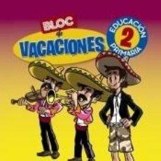Libros: BLOC DE VACACIONES 2. Lote 206233265