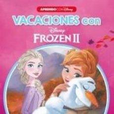 Libros: VACACIONES CON FROZEN II (LIBRO EDUCATIVO DISNEY CON ACTIVIDADES): EMPIEZO... INFANTIL 5. Lote 206853941