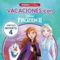 Libros: VACACIONES CON FROZEN II (LIBRO EDUCATIVO DISNEY CON ACTIVIDADES): EMPIEZO... INFANTIL 4. Lote 206854071